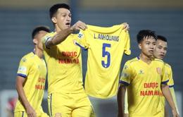 ẢNH: DNH Nam Định giành 3 điểm trước Hồng Lĩnh Hà Tĩnh