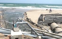 Người dân bức xúc vì nước nuôi tôm thải trực tiếp ra biển
