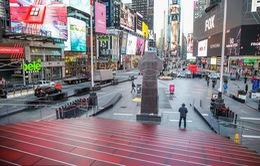 """""""Thành phố không bao giờ ngủ"""" New York (Mỹ) vắng vẻ trong mùa dịch COVID-19"""