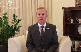 Đại sứ Anh cảm ơn Chính phủ và các y bác sĩ Việt Nam