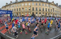 Giải bán marathon Bath vẫn diễn ra giữa mùa dịch Covid-19