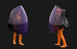 Độc đáo ý tưởng che chắn toàn thân 360 độ kèm diệt khuẩn bằng tia UV