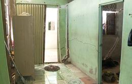 Sóc Trăng: xây nhà gây lún nứt nhà hàng xóm