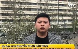 Du học sinh Việt Nam tại nước ngoài luôn cập nhật tình hình dịch bệnh