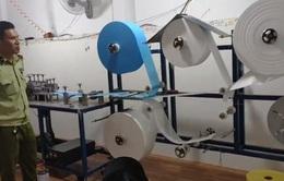 Bình Phước: Phát hiện xưởng sản xuất khẩu trang không giấy phép