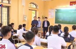 35.000 học sinh tỉnh Vĩnh Phúc ngày đầu tiên trở lại trường học