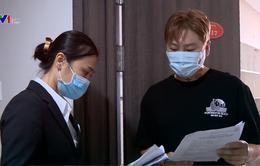 Phòng dịch COVID-19 trong khu chung cư có đông người Hàn Quốc sinh sống