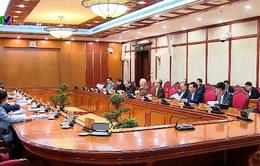 Bộ Chính trị họp về công tác phòng chống COVID-19
