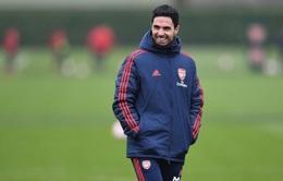 Arsenal báo tin vui về tình hình sức khỏe HLV Arteta