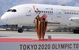 Nhật Bản lặng lẽ đón ngọn lửa Olympic