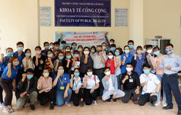500 sinh viên y khoa TP.HCM tham gia phòng chống dịch
