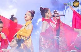 """Trời sinh một cặp: MC Thu Hoài nhận điểm 10 từ giám khảo với mashup """"Bánh trôi nước - Túy âm"""""""