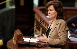 Phó thủ tướng Tây Ban Nha nhập viện