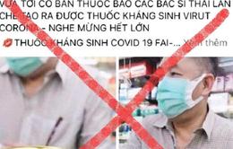 Bị phạt 10 triệu đồng vì rao bán thuốc kháng sinh chống COVID-19