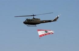 Lebanon: Dùng trực thăng kêu gọi người dân ở trong nhà