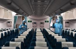 Tiếp tục tăng cường phòng dịch trên các chuyến bay nội địa