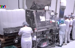 Công ty sản xuất bia chuyển sang sản xuất nước rửa tay