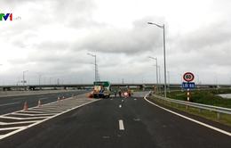 Đóng lối ra từ cao tốc Hà Nội - Hải Phòng đi Tân Vũ - Lạch Huyện