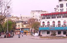 Nhiều cửa hàng kinh doanh tại Hà Nội đóng cửa chống dịch COVID-19