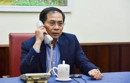 Thứ trưởng Bùi Thanh Sơn điện đàm với lãnh đạo Bộ Ngoại giao nhiều nước về tình hình COVID-19