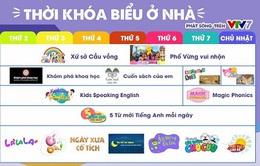 Đừng bỏ lỡ loạt chương trình học bổ ích dành cho các bé trên VTV7