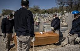 832 ca tử vong do COVID-19 trong ngày 28/3 tại Tây Ban Nha