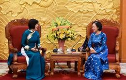 Phụ nữ Việt Nam ngày càng chủ động, tích cực, khẳng định mình trong lĩnh vực đối ngoại