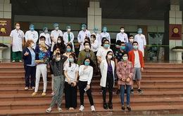 27 bệnh nhân COVID-19 tại Bệnh viện Bệnh nhiệt đới Trung ương đã khỏi bệnh