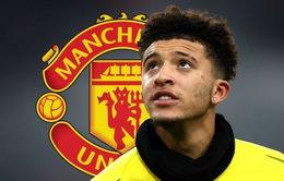 """Bí mật đàm phán và """"tô mộng đẹp"""", Man Utd sắp có Jadon Sancho"""