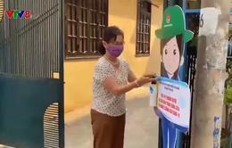 Mô hình trạm rửa tay di động tại Đà Nẵng