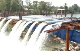 Tiền Giang bổ sung nước ngọt cho nhà máy nước lớn nhất tỉnh