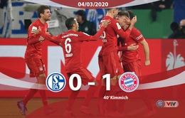 Schalke 04 0-1 Bayern Munich: Kimmich tỏa sáng