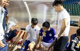 Duy Mạnh dự kiến sẽ sang Singapore điều trị chấn thương