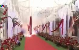 Công an Hà Nội điều tra vụ đốt pháo tại đám cưới