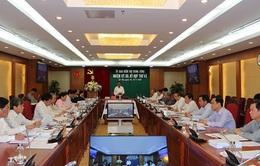 Thông cáo báo chí Kỳ họp 43 của Ủy ban Kiểm tra Trung ương