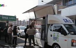 Công ty rượu Hàn Quốc quyên góp cồn để chống COVID-19