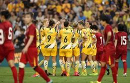 ĐT nữ Australia 5-0 ĐT nữ Việt Nam: Thắng đậm, ĐT Australia giành lợi thế đoạt vé dự Olympic Tokyo 2020