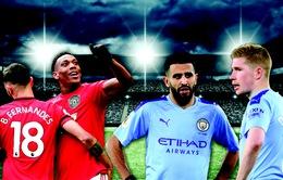 Lịch trực tiếp bóng đá Ngoại hạng Anh vòng 29: Rực lửa derby Manchester