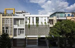 Ngôi nhà có thiết kế đặc biệt thông thoáng