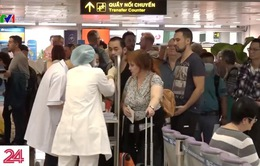 Siết chặt kiểm dịch y tế tại sân bay Tân Sơn Nhất