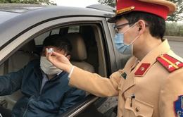 Cảnh sát giao thông phải khai báo tình trạng sức khỏe của bản thân và người thân