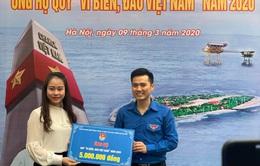 """Thành đoàn Hà Nội phát động ủng hộ """"Vì biển, đảo Việt Nam"""""""
