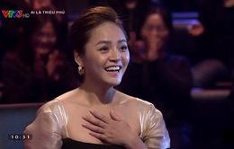 """Thu Quỳnh giành tấm séc 22 triệu đồng của """"Ai là triệu phú"""""""
