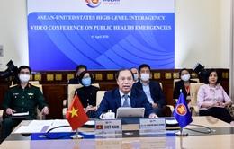 Hội nghị trực tuyến các quan chức cao cấp liên ngành ASEAN-Mỹ về các tình huống y tế công cộng khẩn cấp
