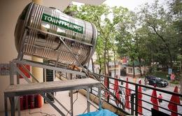 """Máy """"ATM gạo"""" miễn phí tại Hà Nội"""