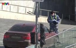 Moscow (Nga) áp dụng chính sách giấy phép đi lại do dịch COVID-19