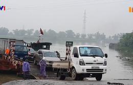 Hải Dương hạn chế phương tiện xe ngoại tỉnh qua phà Tuần Mây