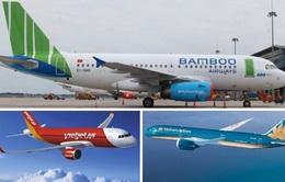 Các hãng hàng không thông báo đồng loạt triển khai bay nội địa trở lại từ ngày 16/4