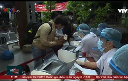 Lấy mẫu xét nghiệm toàn bộ hành khách xuống ga Sài Gòn