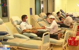 Nguy cơ không còn máu dự trữ cung cấp cho các bệnh viện ĐBSCL